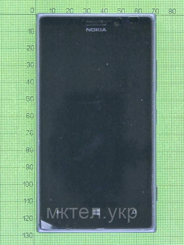 Дисплей Nokia Lumia 925 в сборе, черный orig-china