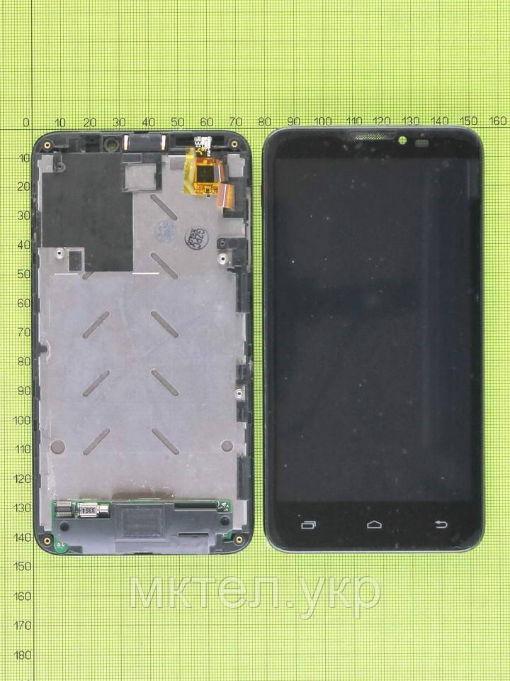 Дисплей Prestigio MultiPhone 5300 DUO в сборе, черный used