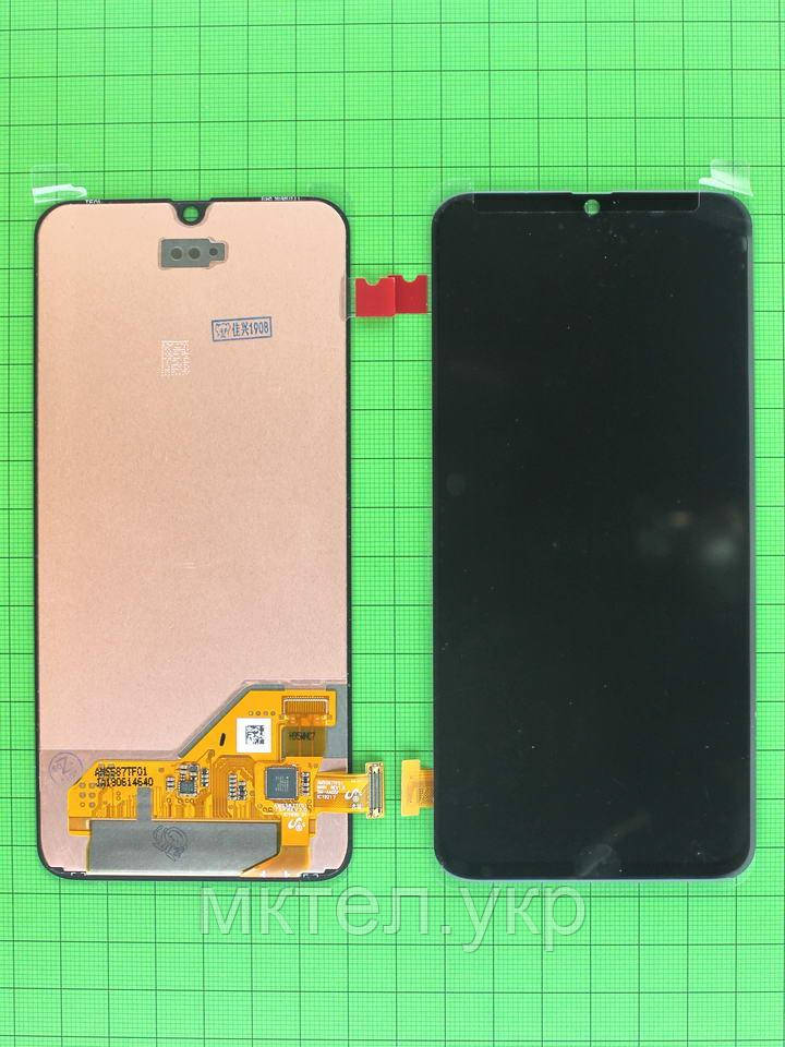 Дисплей Samsung Galaxy A40 2019 A405F с сенсором, черный orig-china