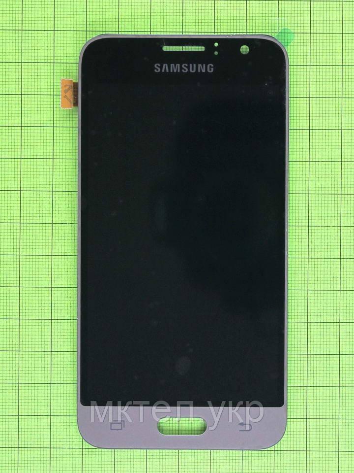 Дисплей Samsung Galaxy J1 2016 J120F с сенсором, TFT без регулиров, золотистый copyAAA