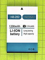 Аккумулятор NB-282 Nomi i282 1200mAh Оригинал