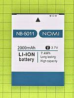 Аккумулятор NB-5011 Nomi i5011 Evo M1 2000mAh Оригинал
