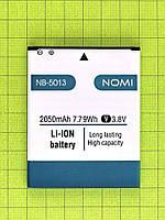 Аккумулятор NB-5013/5012 Nomi i5013 EVO M2 Pro 2050mAh Оригинал