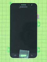 Дисплей Samsung Galaxy J3 SM-J320 с сенсором, черный self-welded