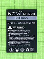 Аккумулятор NB-6030 Nomi i6030 Note X 3300mAh Оригинал