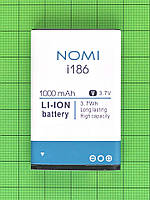 Аккумулятор Nomi i186 1000mAh, Оригинал