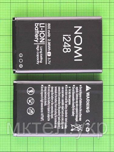 Аккумулятор Nomi i248 800mAh Оригинал