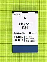 Аккумулятор Nomi i281 1400mAh Оригинал