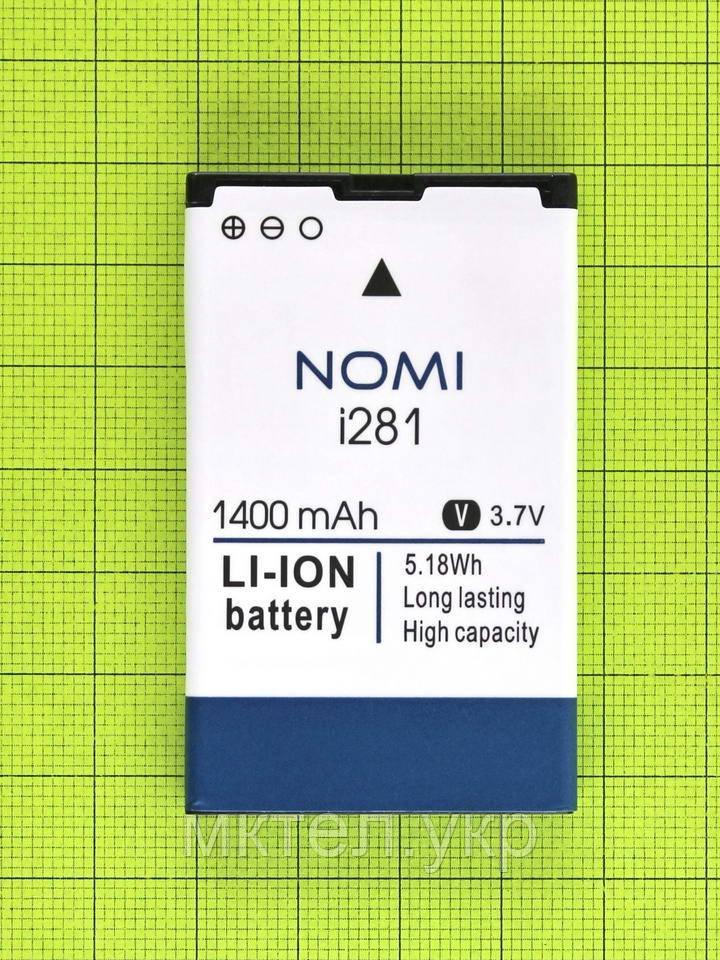 Аккумулятор Nomi i281 1400mAh Оригинал - фото 1