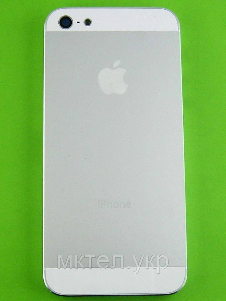 Задняя крышка iPhone 5, белый orig-china