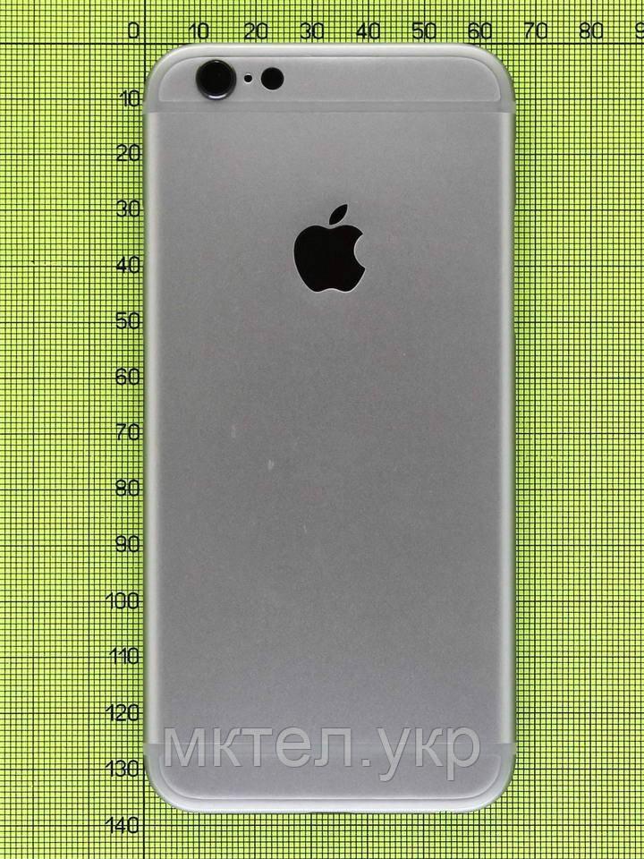 Задняя крышка iPhone 6, серый copyAA