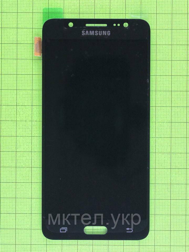 Дисплей Samsung Galaxy J5 2016 J510F с сенсором, TFT без регулиров., черный copyAAA