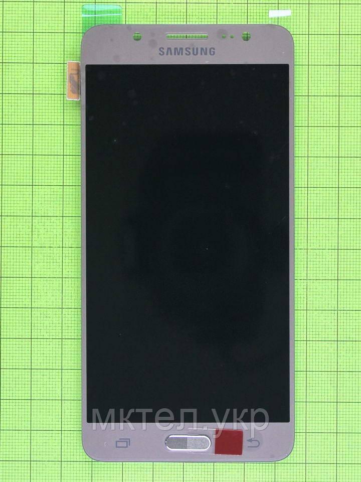 Дисплей Samsung Galaxy J5 2016 J510F с сенсором, TFT матрица, золотистый copyAAA