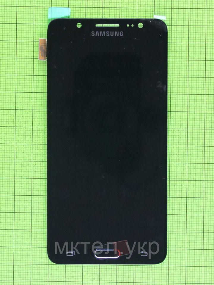 Дисплей Samsung Galaxy J5 2016 J510F с сенсором, TFT с регул., черный copyAAA