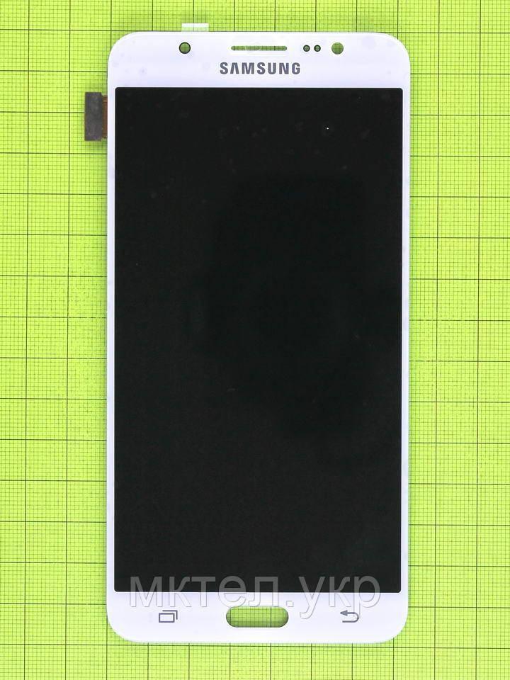 Дисплей Samsung Galaxy J7 2016 J710F с сенсором, TFT без регулиров., белый copyAAA