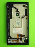 Задняя крышка Nokia Lumia 800 в сборе, черный Оригинал #8002359
