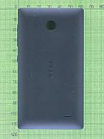 Задняя крышка Nokia X Dual SIM, черный Оригинал #8003222