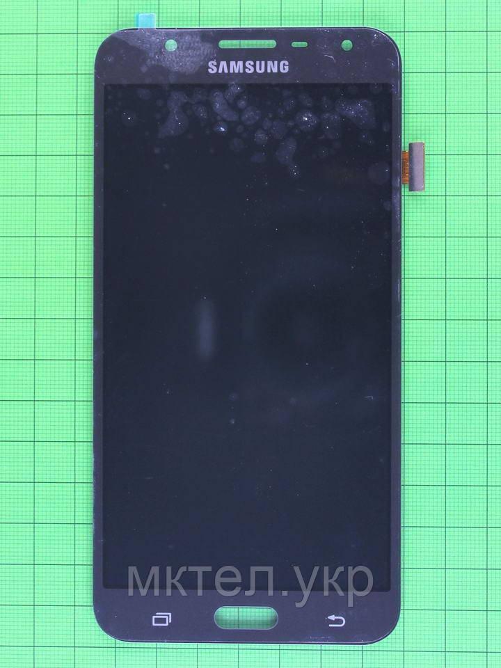 Дисплей Samsung Galaxy J7 Neo J701 с сенсором, TFT матрица, серый copyAAA