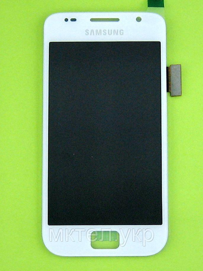 Дисплей Samsung Galaxy S i9000 с сенсором, белый self-welded