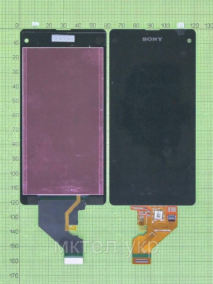 Дисплей Sony Xperia Z1 Compact D5503 с сенсором, черный copyAA