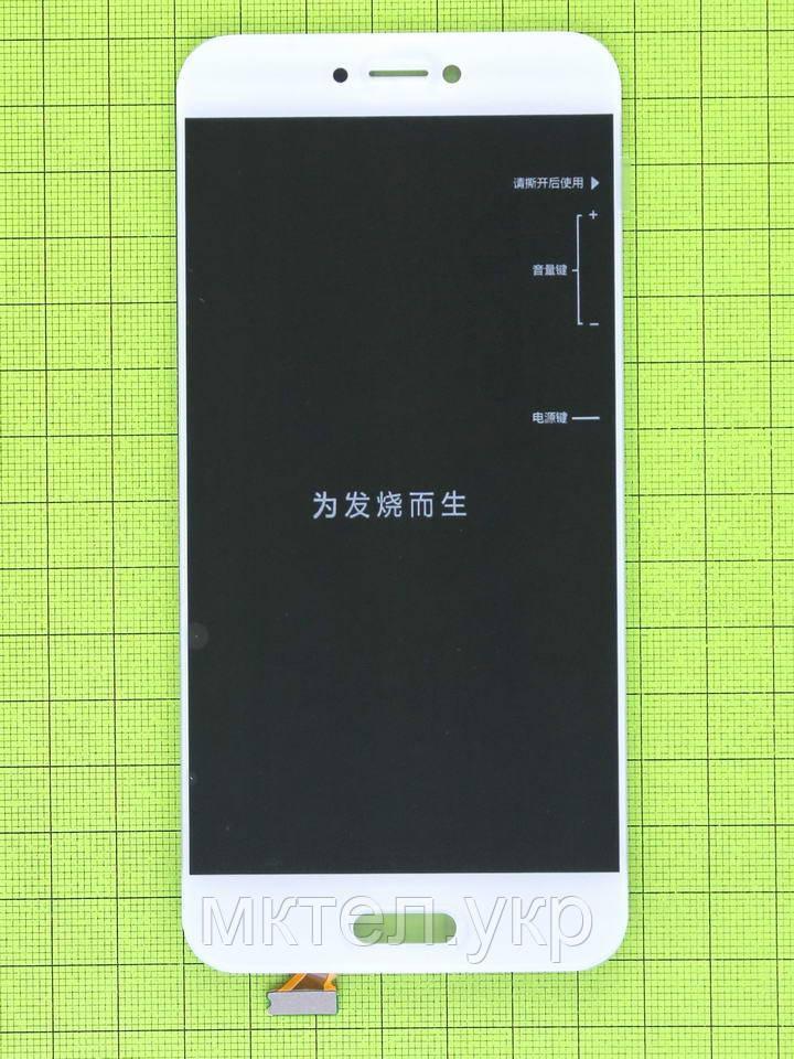Дисплей Xiaomi Mi5C с сенсором, белый orig-china