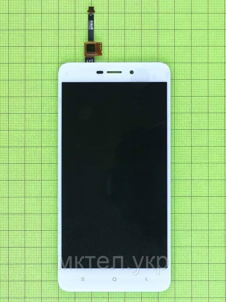 Дисплей Xiaomi Redmi 4A с сенсором, белый copyAA