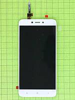 Дисплей Xiaomi Redmi 4X с сенсором, белый orig-china