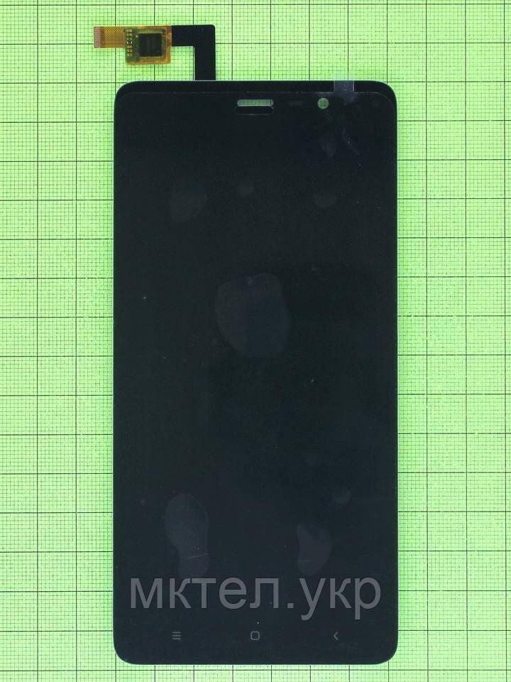 Дисплей Xiaomi Redmi Note 3 Pro Special Edition с сенсором, черный copyAA