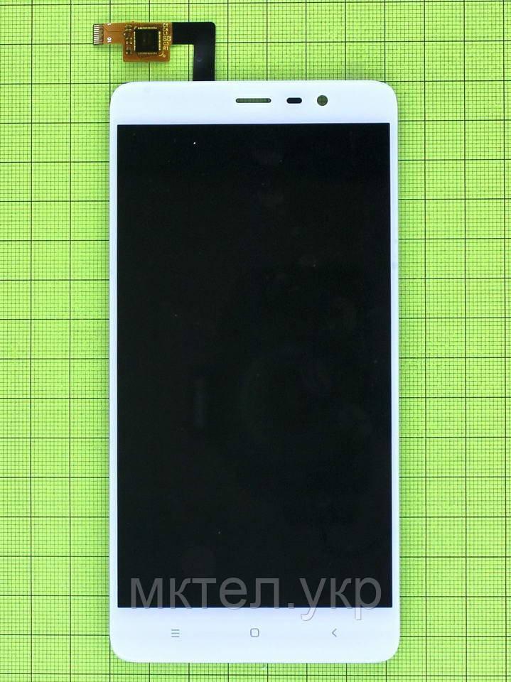Дисплей Xiaomi Redmi Note 3 с сенсором, белый copyAA