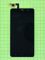Дисплей Xiaomi Redmi Note 3 с сенсором, черный self-welded