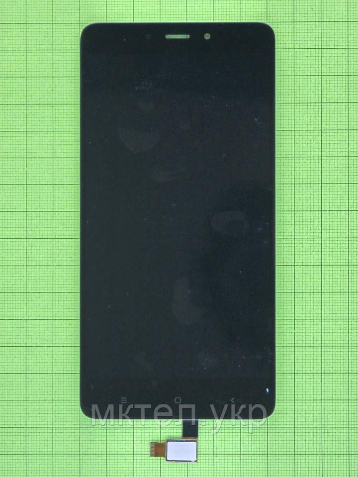 Дисплей Xiaomi Redmi Note 4 с сенсором, черный self-welded