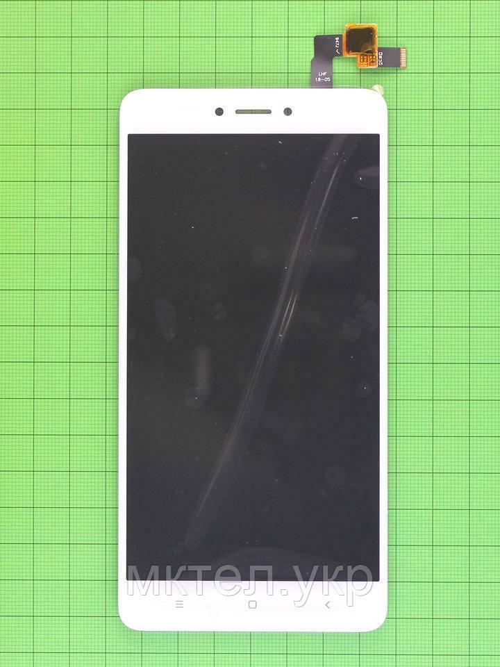 Дисплей Xiaomi Redmi Note 4X с сенсором, белый self-welded