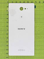 Задняя крышка Sony Xperia M2 с скотчем, белый orig-china