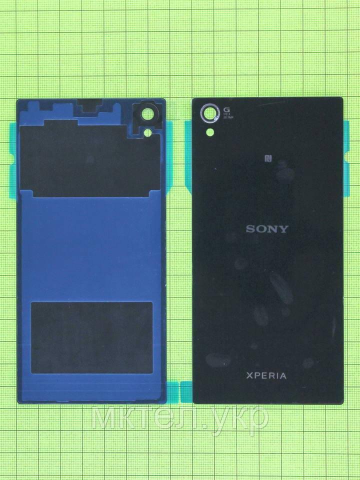 Задняя крышка Sony Xperia Z1 C6902 с скотчем, черный copyAA