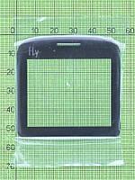 Стекло передней панели FLY EZZY 6, черный Оригинал #3.06.00258.0GSL