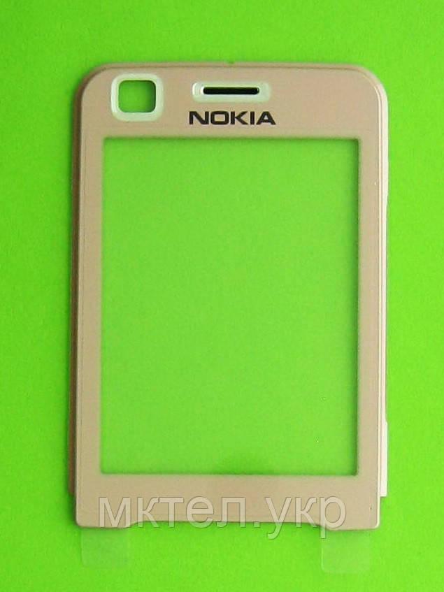 Стекло передней панели Nokia 6120 classic, розовый, Оригинал #0269911