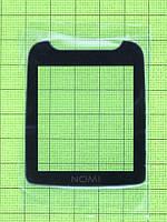 Стекло передней панели Nomi i242 X-treme, черный Оригинал