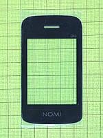 Стекло передней панели Nomi i246, черный Оригинал