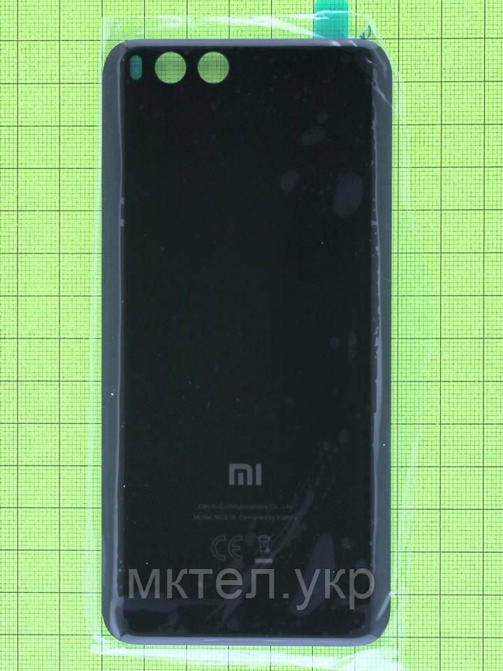 Задняя крышка Xiaomi Mi6, черный, Оригинал