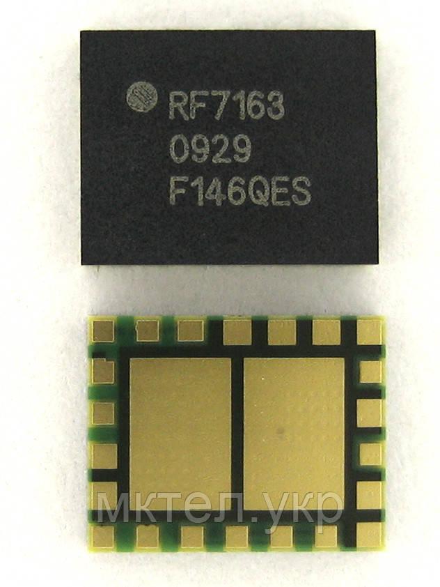 China Mobile IC PA RF7163, orig-china