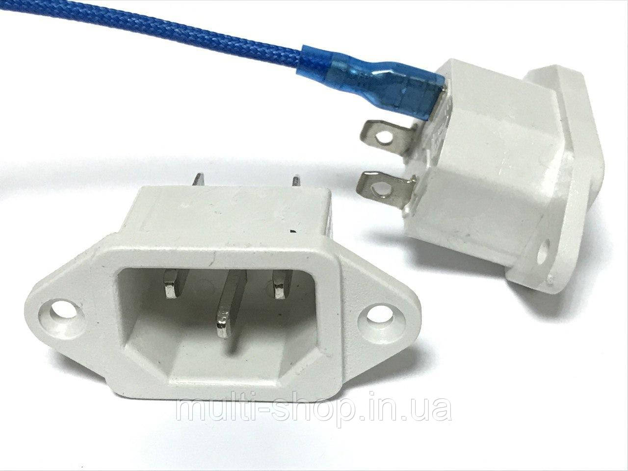 SR-01W Сетевой разъем для мультиварки Redmond белый (клемы)