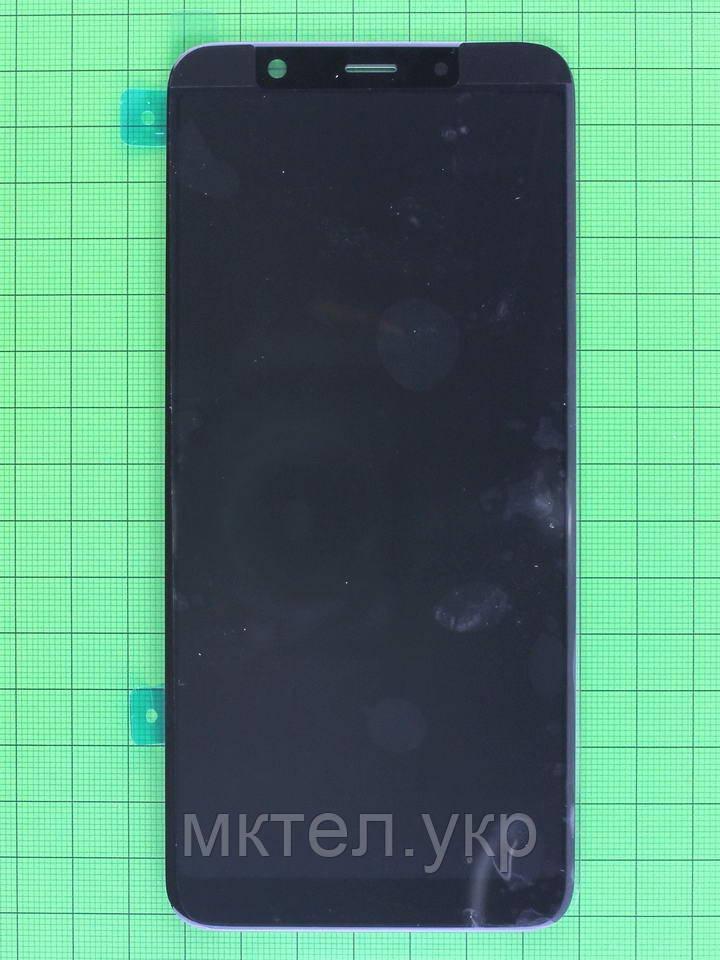 Дисплей Samsung Galaxy A6 A605F с сенсором, черный Оригинал #GH97-21878A