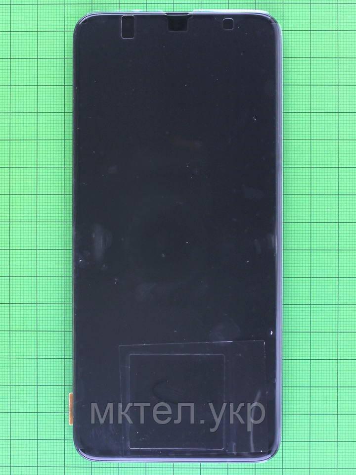 Дисплей Samsung Galaxy A70 2019 A705F с сенсором, корпусом черный Оригинал #GH82-19747A