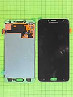 Дисплей Samsung Galaxy J4 2018 J400 с сенсором, черный Оригинал OEM