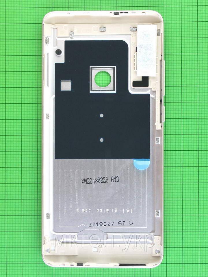 Задняя крышка Xiaomi Redmi Note 5, золотистый Оригинал - фото 2