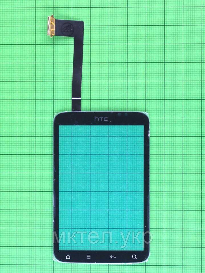 Сенсор HTC Wildfire S A510e, черный self-welded