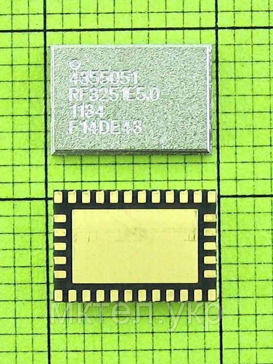 Nokia 5310 IC PA 4355051 POW AMP FEM RF3251E5.0 Silver, Оригинал #4355051