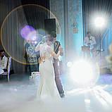 Тяжелый дым на первый танец молодых. Услуга запуска тяжелого дыма в Одессе., фото 3