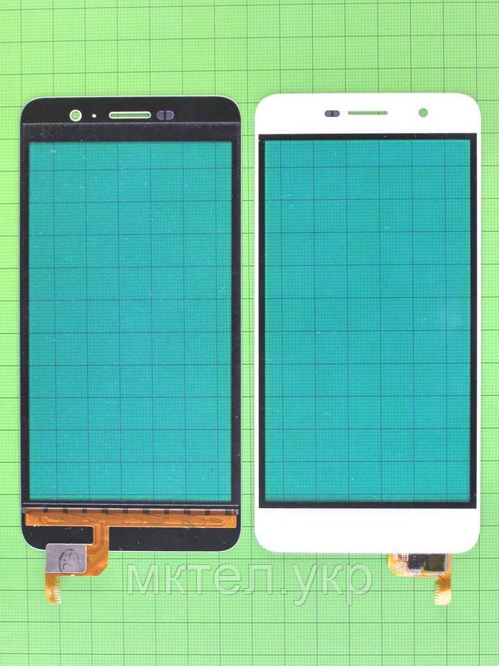 Сенсор Huawei Y6 Pro (TIT-U02), белый self-welded