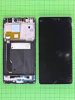 Дисплей Xiaomi Mi4c с сенсором, панелью черный Оригинал OEM #480034810003